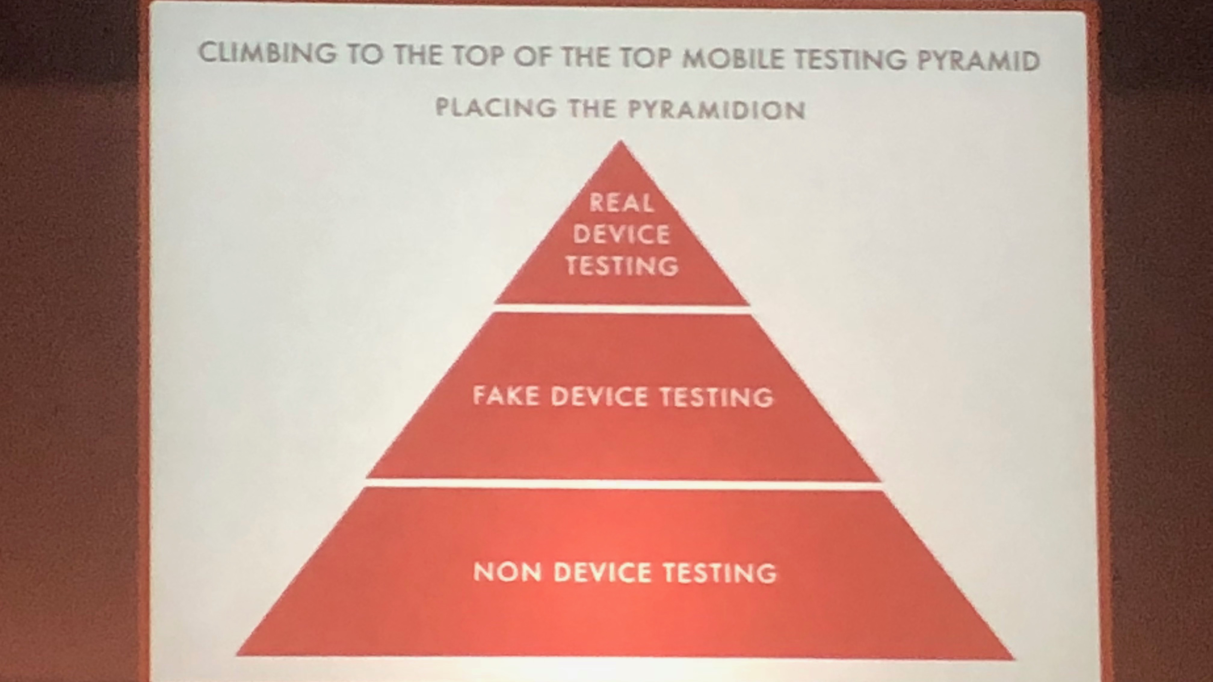 Clymer: mobile testing pyramid
