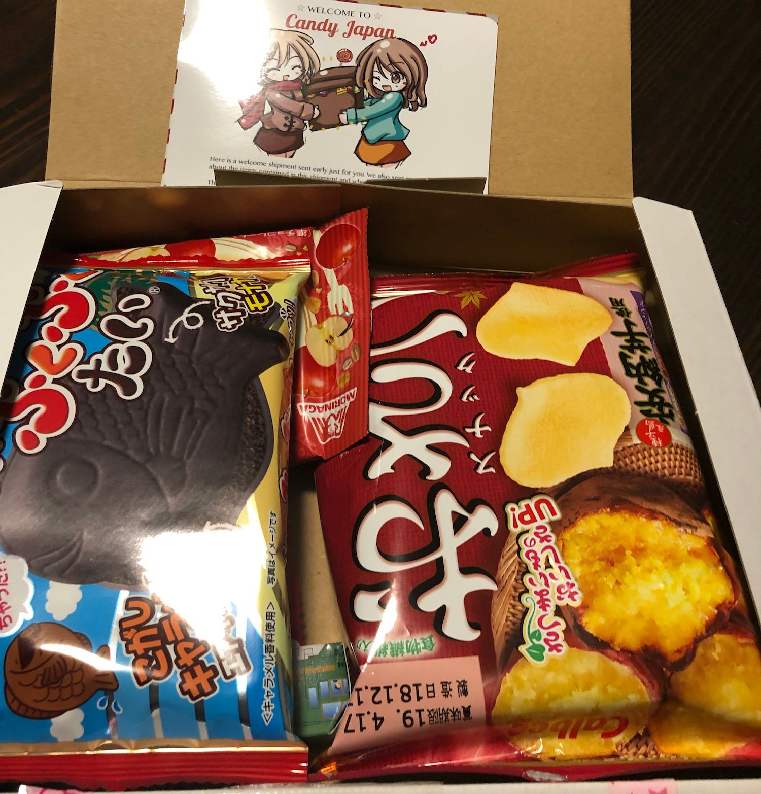 A box from Candy Japan
